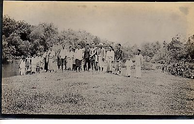 Great Samantanulu-Raub Residents, Pahang, Malaya. 1933.