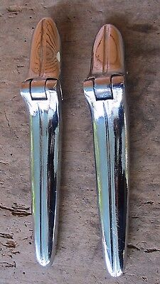 NOS NORS 1930's Ford GM Mopar Packard Buick Trunk Hinge Pair
