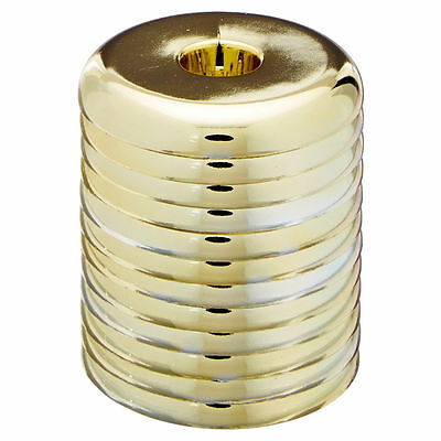 "Jones Stephens F08375 Polished Brass 3/8"" Ips Split Escutcheon"