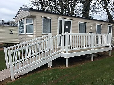 Caravan Decking Disabled Ramp - Composite Boards 16x6 12x4