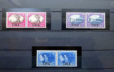 South West Africa SWA 1945 SG131-133, Victory Set of 3 Mint MNH!!