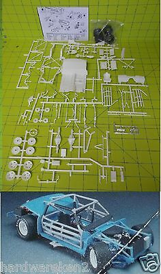 CHASSIS - 1970'S - 80's SHORT-TRACK SPORTSMAN STOCK CAR DONOR CHASSIS KIT -1/25