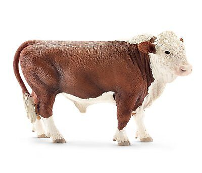 HEREFORD COW FAMILY By Schleich; NEW 2014/cows/bull/calf/brown and white