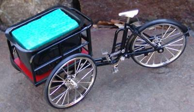 Miniature 3 Wheel Mini Bicycle with Cart for Riley & DJ