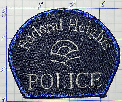 Colorado, Federal Heights Police Version 2 Patch