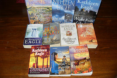 Nice lot of Romance Novels by KATHLEEN EAGLE   free s/h in Canada