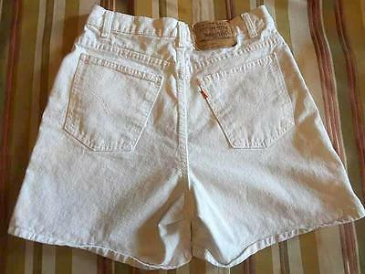 LEVI'S ORANGE TAB SHORTS 920 Regular Fit High Waisted Vintage 80's sz 12 ~ GREAT