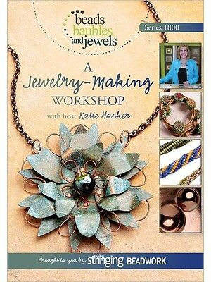 Beads Baubles & Jewels TV Series 1800 Katie Hacker Jewelry Making DVD