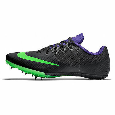 New Nike Zoom Rival S 8 Mens Track Field Spikes Sprint Running Shoes : Black