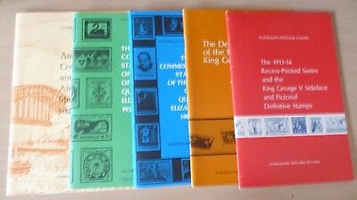 STAMPS - STAMP COLLECTING - Australia - 5 booklets
