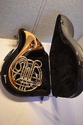 Conn 8D Series Double French Horn  Rose Brass Fixed Bell - Exc. Playing Cond.