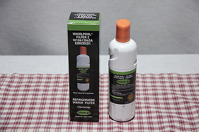 Whirlpool DRINK UP Refrigerator WATER FILTER 2 Cartridge W10413645A EDR2RXD1