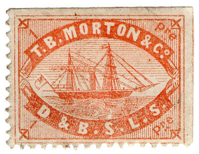 (I.B) Turkey Postal : TB Morton & Co Journal Stamp 1pi