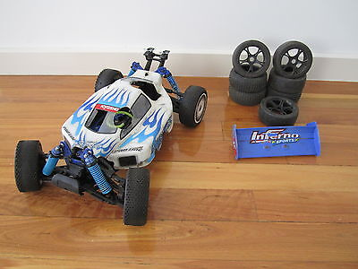 Kyosho Inferno 1/8 Scale 4X4 Nitro Off-Road Buggy Roller!!!!!!!!!