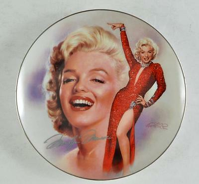 Marilyn Monroe Collector Plate from The Bradford Exchange 7th issue