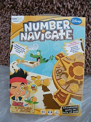 Jake and The Neverland Pirates  Number Navigate x6 Items