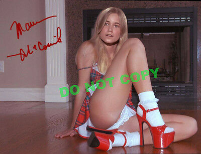 REPRINT RP 8x10 Signed Autographed Photo:  Maureen McCormick