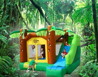 Monkey Jumping Castle and LGE slide (9164) HAPPY HOP