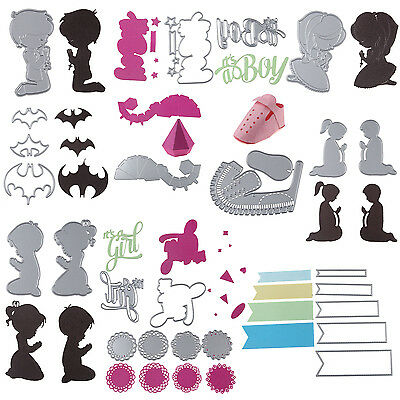 High Quality Metal Cutting Dies Stencil Scrapbook Paper Card Craft Embossing