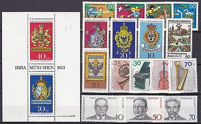 Germany Commemoratives Inc S/s (2A) Mint Never Hinged