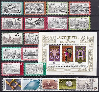 Germany Commemoratives Inc S/s (5A) Mint Never Hinged