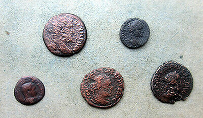 APG 5 Roman Provincial Coins, all different emperors