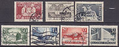Finland 2 X Sets Commemoratives (37A) Used
