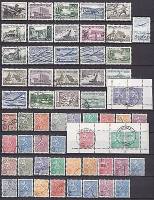 Finland Definatives (40A) Used