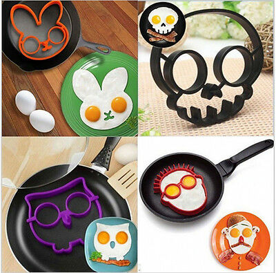 1PC Silicone Forms Egg Mold Culinary Ring Pancake Mould Breakfast Cooking Tools
