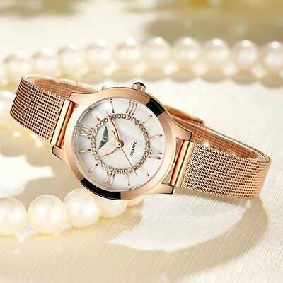 GUANQIN Luxury Women Watches Luminous Clock Women Quartz Watch Female XRAU