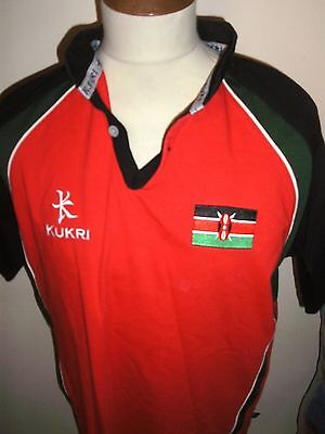 """KENYA RUGBY USA RUGBY 7s SHIRT SIZE LARGE 42"""" CHEST"""