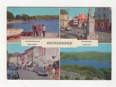 Skibbereen Co Cork Ireland 1972 Multiview Postcard 899a