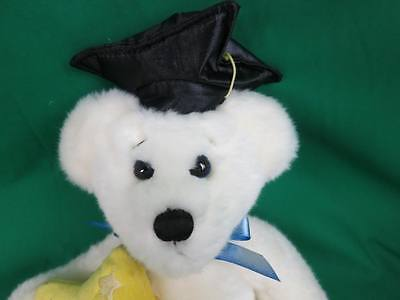 First And Main Graduation Cap Yellow Superstar Congratulations Grad Plush Toy