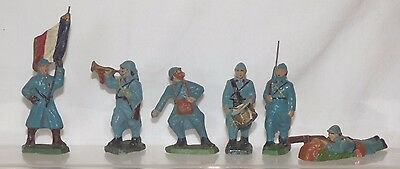 CF05 - French Cellose ? 70mm composition - French Soldiers. VGC