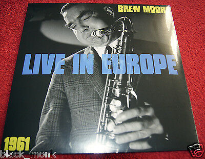 Brew Moore Live In Europe Stockholm / Paris 1961 Sonorama Lp New & Sealed!