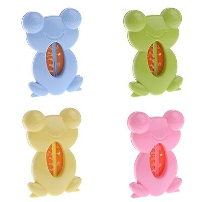 Children Baby Room+Bath Safe Thermometer Frog Floating Water Temperature Toy