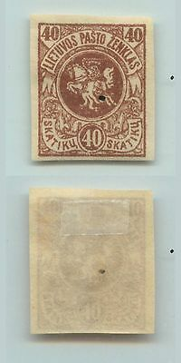 Lithuania, 1919, SC 44, mint, imperf. d732