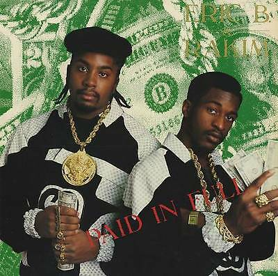"Eric B & Rakim "" Paid In Full "" New Uklp On *** Coloured Vinyls *** 20 Tracks"