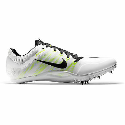 New Nike Zoom JA Fly 2 II Mens Track & Field Spikes Sprint Shoes : White Volt