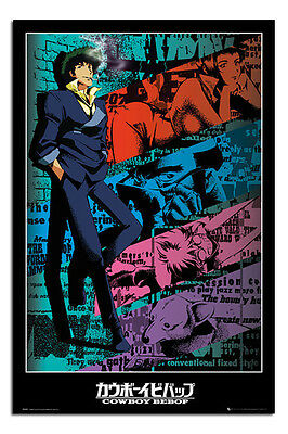 Cowboy Bebop Spike Anime Poster New - Maxi Size 36 x 24 Inch
