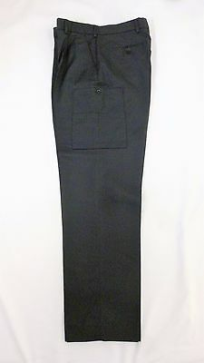 X Police Prison Officer Security Uniform Polycotton Leg Pocket Trousers B6 (JD1