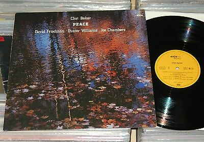 Chet Baker - LP (VG+) Peace - Friedmann Williams Chambers / enja 1982 Germany