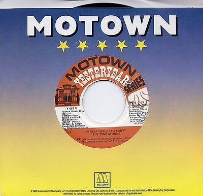 The Temptations - Treat Her Like A Lady - Motown