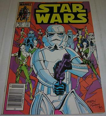 STAR WARS #97 (Marvel Comics 1985) IMPERIAL STORMTROOPERS (FN+)