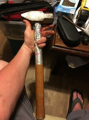 """17"""" 4lbs Blacksmithing Or Sledge Hammer Made In China"""