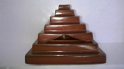 Lampe Berger forme pyramide avec marches Pierre CASENAVE - Made in France