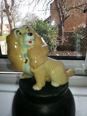 "Wade Disney Lady And The Tramp "" Lady "" Blow Up Dog Figure In Vgc"