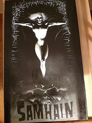 Samhain  Box Set  With  5Cds  ,vhs And Booklet ( Edition With No Comic Book)