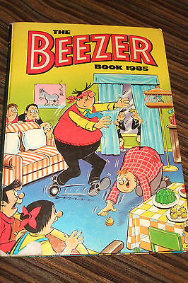 Old Vintage The Beezer Book 1985  Children's Annual Book
