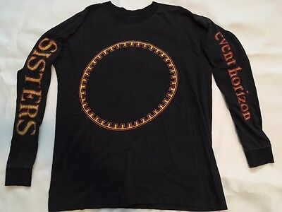 SISTERS OF MERCY EVENT HORIZON 1998 TOUR L/S T SHIRT VINTAGE Bauhaus Cure Goth